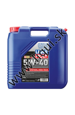 LIQUI MOLY SYNTHOIL HIGH TECH 5W-40 - 20l