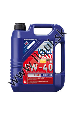 LIQUI MOLY DIESEL HIGH TECH 5W-40 - 5l