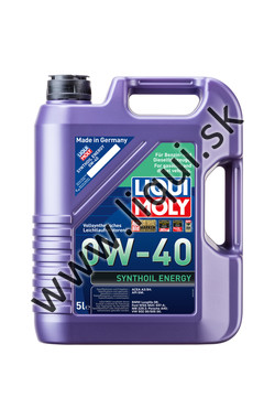LIQUI MOLY SYNTHOIL ENERGY 0W-40 - 5l