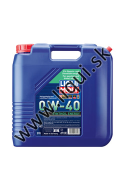 LIQUI MOLY SYNTHOIL ENERGY 0W-40 - 20l