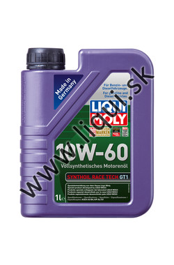 LIQUI MOLY SYNTHOIL RACE TECH GT1 10W-60 - 1l