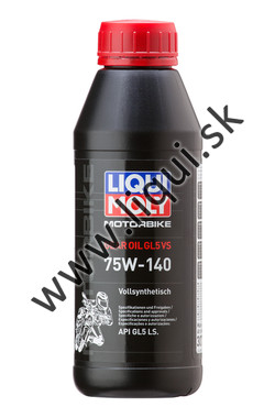LIQUI MOLY GEAR OIL 75W-140 GL5 VS - 500ml