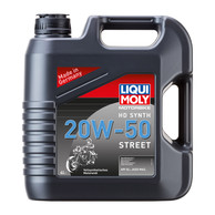 LIQUI MOLY 4T HD SYNTH 20W-50 STREET - 4l
